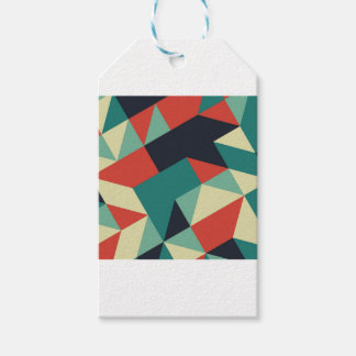 Color Polygons Gift Tags