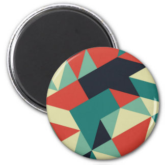 Color Polygons Magnet