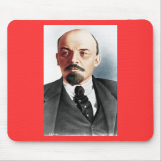 Color portrait of Lenin Mouse Pad