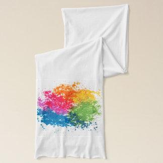 Color Powder Rainbow Scarf