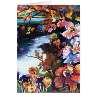 """""""Color Prisms in Nature"""" Card"""