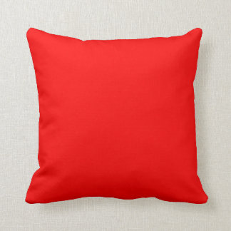 color red cushion