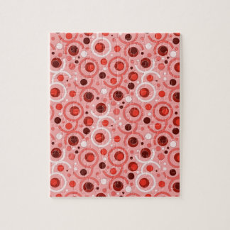 COLOR ROUND PATTERN GIFT III COMPLETES JIGSAW PUZZLE