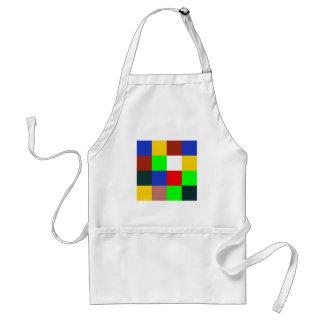 Color scheme from Bauhaus Adult Apron