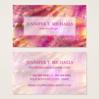 color seamless background purple, pink business card