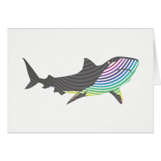 Color Shark Swirl Card