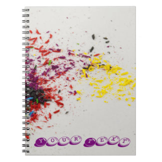 Color Shavings Notebook