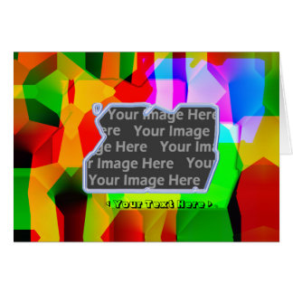 Color Shift (photo frame) Greeting Card