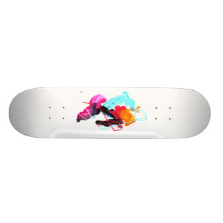 COLOR SK CUSTOM SKATEBOARD