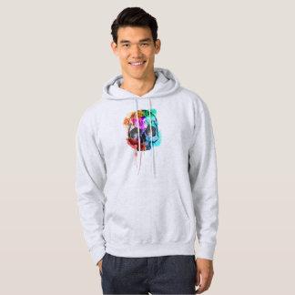 color skull hoodie