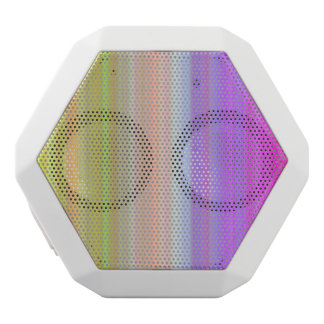 Color Spectrum Stripes White Boombot Rex Bluetooth Speaker
