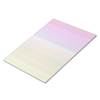 Color Spectrum Stripes Notepad