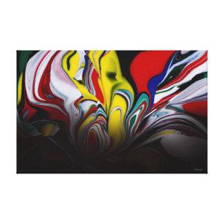 """Color Spill"" Canvas Print"