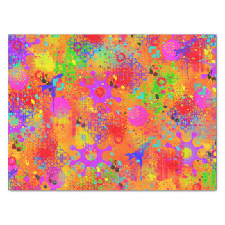 Color Splash Graffiti Tissue Paper