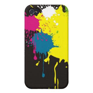 color splash iPhone 4/4S cases