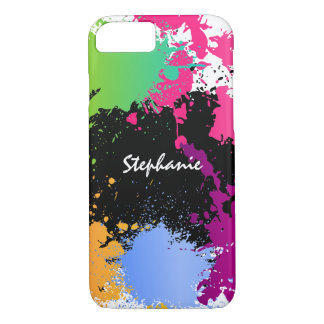 Color Splash Personalized iPhone 8/7 Case