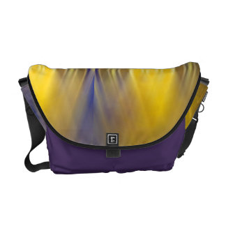 Color Splash Retro Rickshaw Messenger Bag