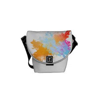 Color Splash Rickshaw Messenger Messenger Bag