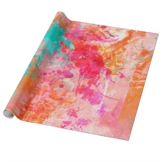 Color Splash Wrapping Paper