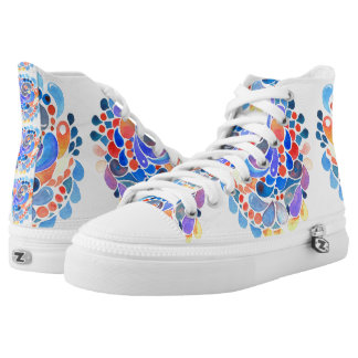Color Splash Zip Z hightops