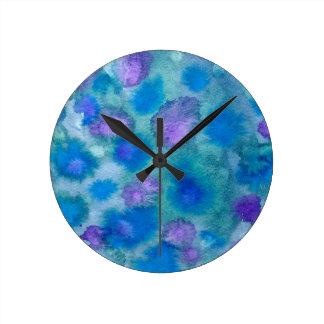 Color Splatz Wall Clock
