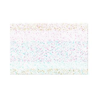 Color spots canvas print