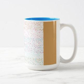 Color spots Two-Tone coffee mug