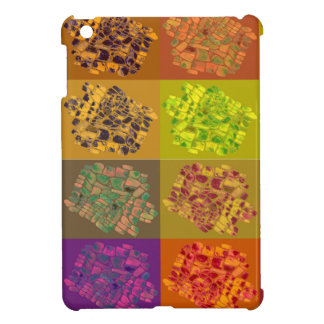 color square mosaic iPad mini case