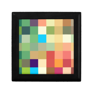 color squares background abstract geometric patter gift box