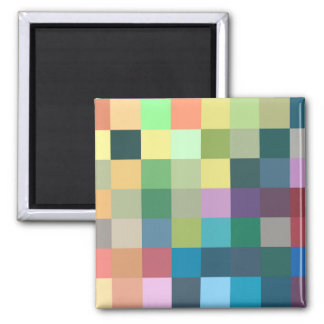color squares background abstract geometric patter magnet