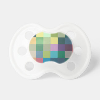 color squares background abstract geometric patter pacifier
