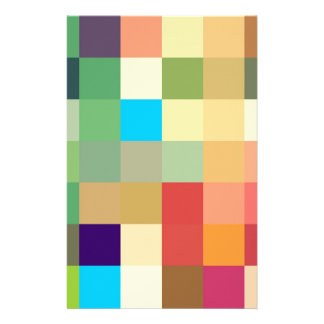 color squares background abstract geometric patter stationery
