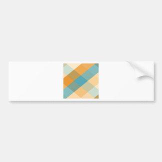 Color Squares Bumper Sticker