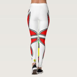 Color Star Leggings