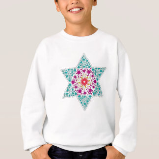 Color Star of David Magen David Sweatshirt