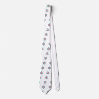 Color Star of David Magen David Tie