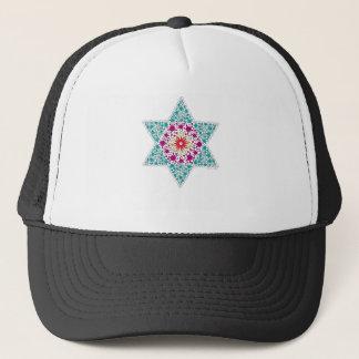 Color Star of David Magen David Trucker Hat