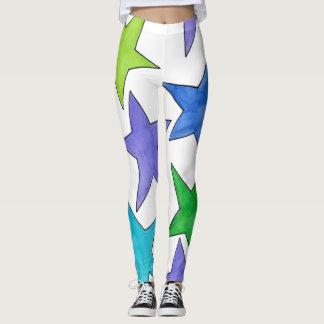 Color Stars - XXL Leggings