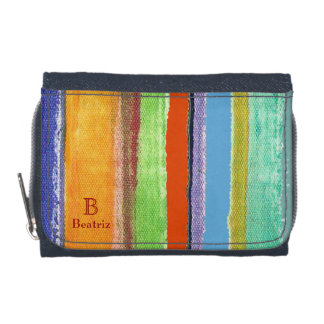color striped fabric textur wallet