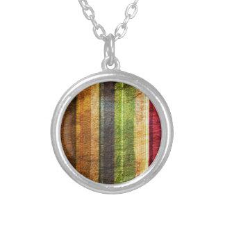 color stripes on wood pattern custom jewelry