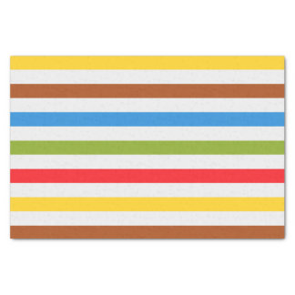 Color Stripes Tissue Paper