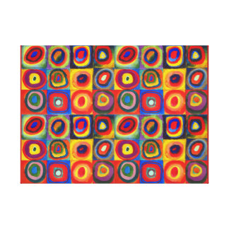 Color Study by Wassily Kandinsky Canvas Print