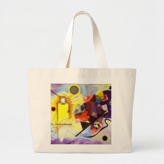 Color Study Squares with Concentric Circles Bags