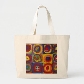 Color Study: Squares with Concentric Circles