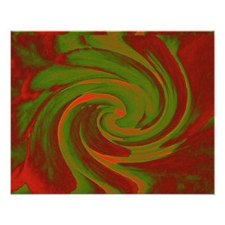Color Swirl Photo Print