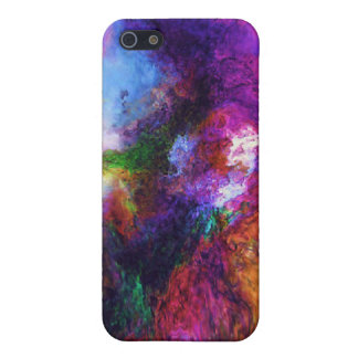 Color Swirl Speck Case