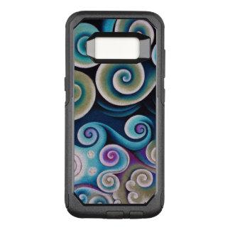 Color Swirls OtterBox Commuter Samsung Galaxy S8 Case
