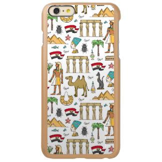 Color Symbols of Egypt Pattern