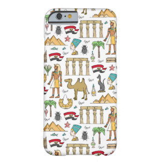 Color Symbols of Egypt Pattern Barely There iPhone 6 Case