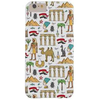 Color Symbols of Egypt Pattern Barely There iPhone 6 Plus Case